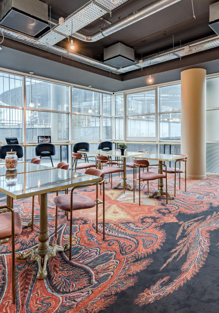 Photo espace de coworking et location de bureaux