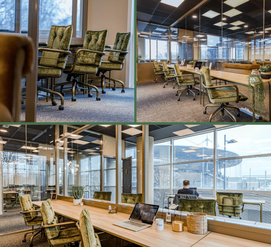 Location de bureaux privés et espace de coworking